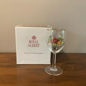 Royal Albert Old Country Roses All Purpose Goblets